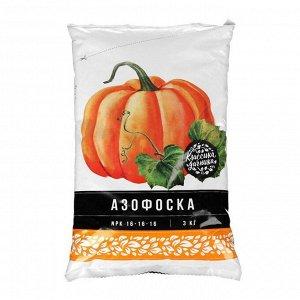 Удобрение минеральное Азофоска Нов-Агро (нитроаммофоска),  3 кг