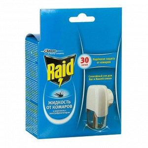 "Raid Комплект электрофумигатор + жидкость на 30 ночей, ""Без запаха"""