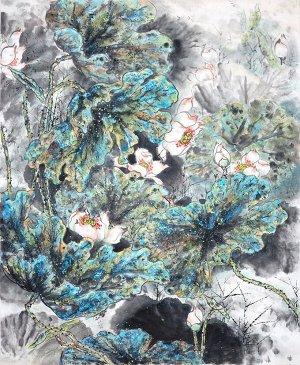 3D Фотообои  «Японские мотивы: Цветы»