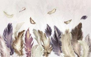 Фотообои Изгородь из перьев