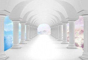 3D Фотообои «Терраса на Олимпе»