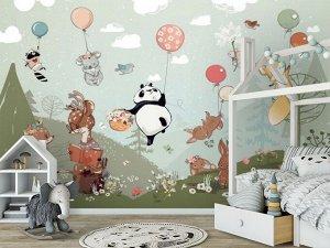3D Фотообои «Лесная полянка»