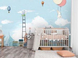 3D Фотообои «Лесенка в облака»