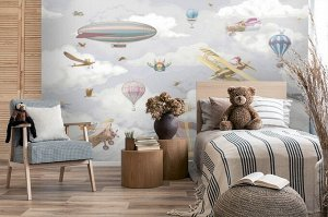3D Фотообои «Воздушная регата»