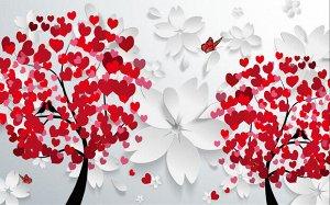 Фотообои Деревья любви