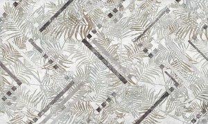 Фотообои Зигзаги в листьях