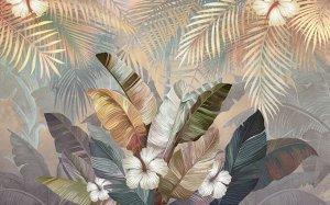 Тропический букет на закате