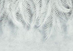 Фотообои Тропическая нежность с бирюзовым оттенком