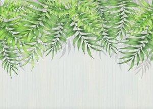 Фотообои Занавес из сочной листвы