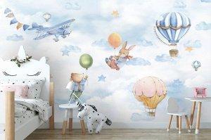 Фотообои «Полёты в облаках»