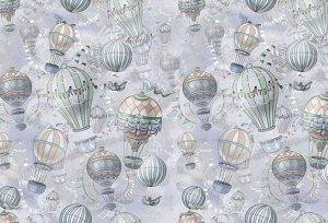 Фотообои «Невесомый полёт в пастельных тонах»