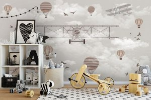 3D Фотообои «Облачное пике»