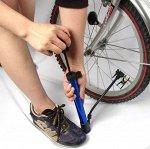 Насос для мячей и велосипедов с иглой