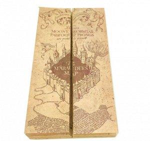 Карта Мародеров Гарри Поттер.