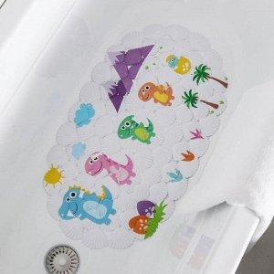 Коврик для ванны Доляна «Семья», 38?68 см