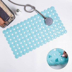 Коврик для ванны Доляна «Пузыри», 38?68 см, цвет МИКС