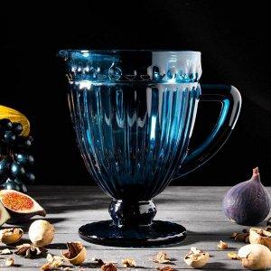 Кувшин «Босфор», 1,1 л, 19?14?20 см, цвет синий