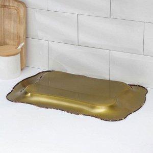 Поднос «Бахмал», 38?24,7 см, рисунок МИКС