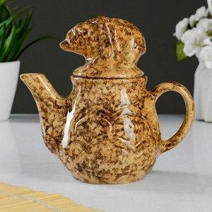 """Чайник с крышкой """"Медведь"""" 350мл"""