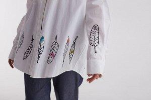Комплект:  рубашка  +  брюки  (2456/1)  +  топ  2483
