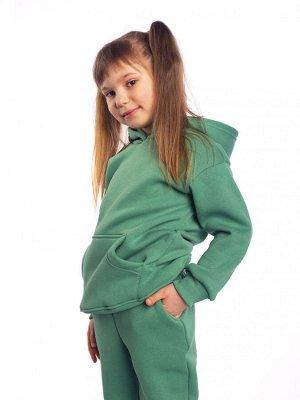 """Костюм детский футер с начесом """"Бейби Стайл"""" зелень"""