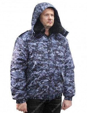 Куртка Охранник тк.Оксфорд цв.Цифра Синяя