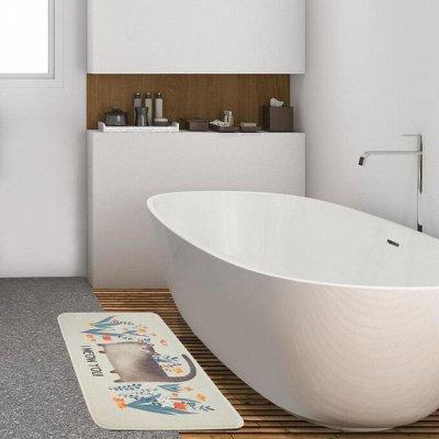 Красивая и удобная ванная — Новинки коврики для ванной — Коврики