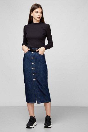 Юбка Levis Button Front Midi Skirt