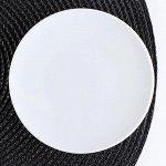 Блюдце Добрушский фарфоровый завод «Бельё», d=12,5 см, цвет белый