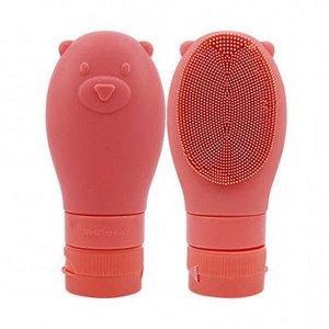 WellDerma Gomdochi Foam Cleanser (Blanche) Пенка для умывания осветляющая с силиконовой щеточкой, 60 мл