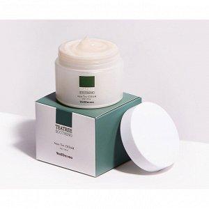 Крем для лица на основе чайного дерева, WellDerma Teatree Soothing Aqua Tox Cream  50мл