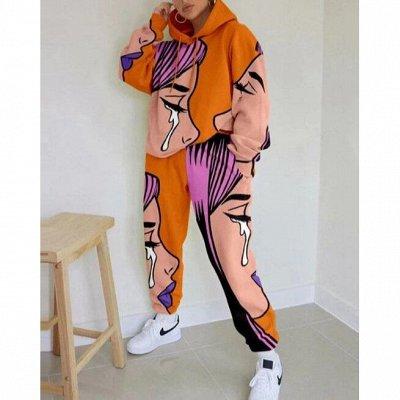 Женская одежда. Костюмы, яркие рубашки, милые блузы — Хитовые женские костюмы с яркими принтами! — Костюмы с брюками