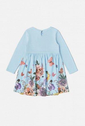 Платье детское для девочек Gudai синий