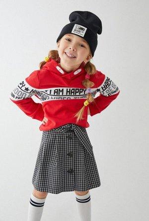 Джемпер детский для девочек Kyba красный
