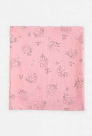 Шарф детский для девочек Mona розовый