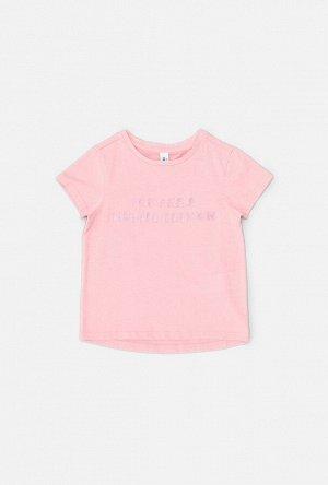 Футболка детская для девочек Renda розовый