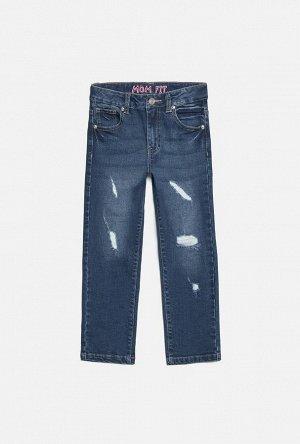 Брюки джинсовые детские для девочек Sirin синий