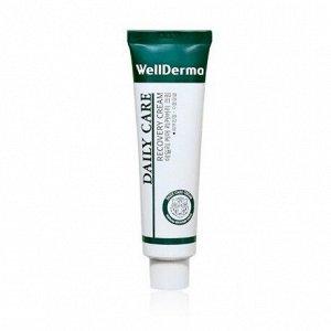 Восстанавливающий крем с центеллой, WellDerma Daily Cure Recovery Cream 30мл