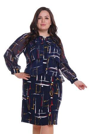 Платье-4492
