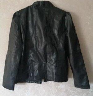 Куртка женская ПУ кожа черный