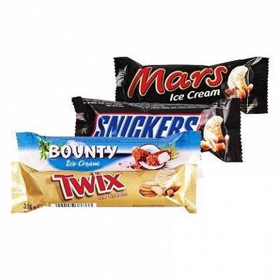 Шикарный выбор чизкейков🍰 — Мороженое MARS, SNICKERS, BOUNTY, TWIX — Мороженое