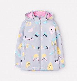 Куртка демисезонная утепленная для девочки Crockid ВК 32097/н/3 УЗГ