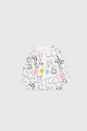 Кофточка(Весна-Лето)+baby (веселый праздник на сахаре)