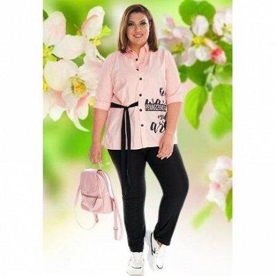 L*M! 🌷Лето! Новинки на пляж! Женская одежда от 42 до 72 р-ра — Туники и рубашки с длинным рукавом — Туники