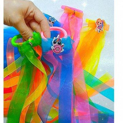 Броши К 9 МАЯ,Банты,Заколки,Галстуки,ручной работы 1-21 — Воздушные резиночки для волос — Резинки и банты