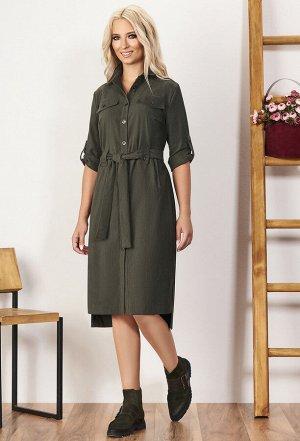 Платье Bazalini 3559 зеленый