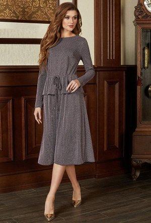 Платье Bazalini 3680 розово-черный