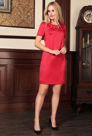 Платье Bazalini 3717 красный