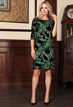 Платье Bazalini 3753 зеленый