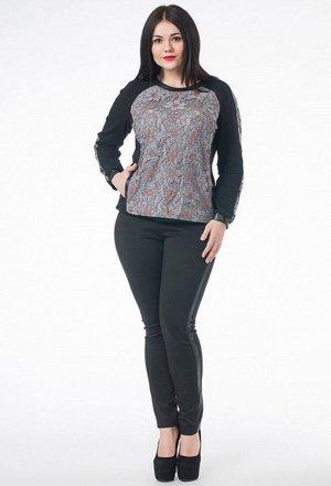 Блуза Melissena 703 серый